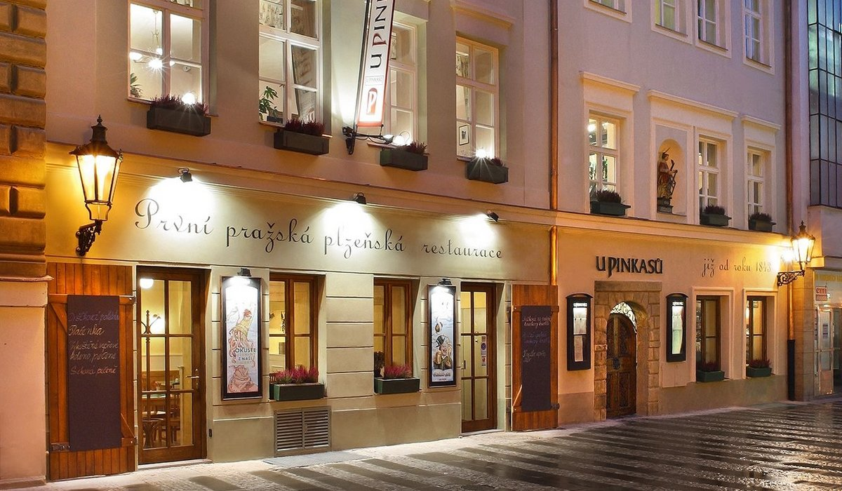 Restaurant U Pinkasu - traditional Czech cuisine and the best beer in Prague